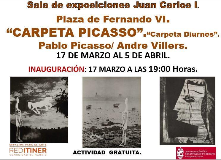 Exposición Carpeta Picasso