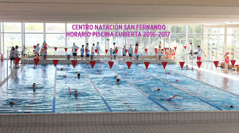 Horario piscina cubierta 2016 2017 centro nataci n san for Horario piscina alaquas