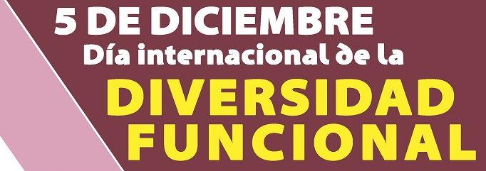 Día Internacional de las Personas con Diversidad Funcional.