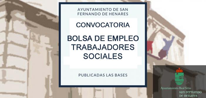 Convocatoria bolsa empleo trabajadores sociales