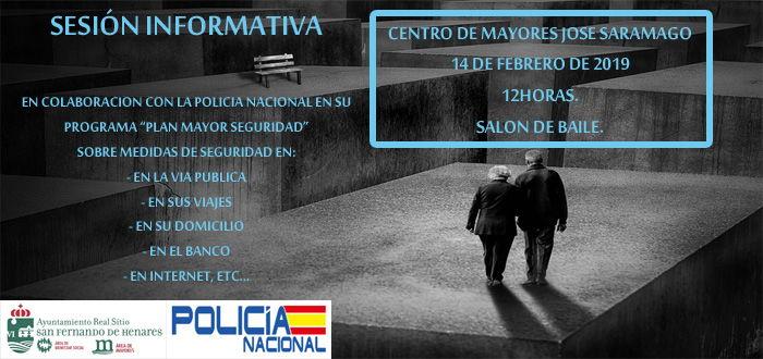 Charla Policía Nacional Mayores