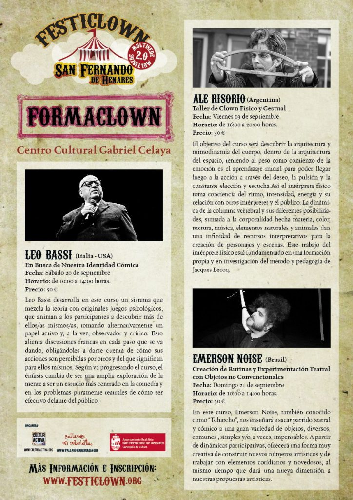 flyerFormaclown_SFernandoH2014