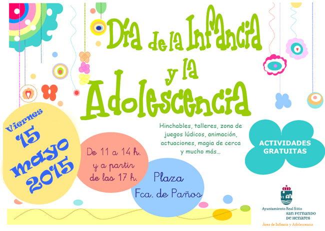 Día infancia 15 mayo