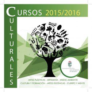 CURSOS CULTURALES 2015-2016 SANFERNANDO