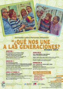 Cartel difinitivo Jornadas Mayores 2015