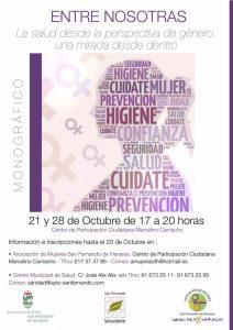 cartel Salud y género