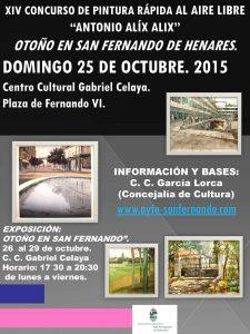 web_Cartel Concurso de Pintura Rápida  2015