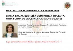 CHARLA CUSTODIA COMPARTIDA_MontserratRoig