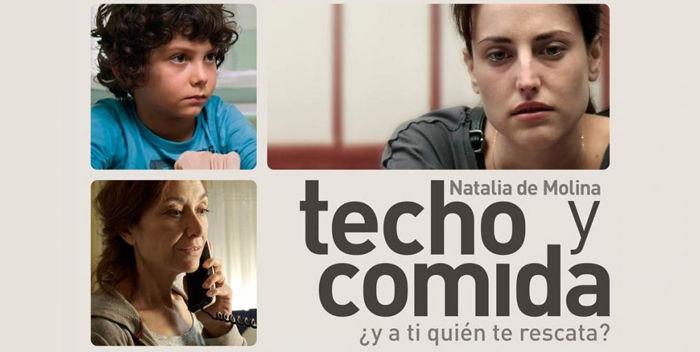 """Cine. """"Techo y Comida"""". Jueves 11 de febrero. Teatro García Lorca. 19:30 horas."""