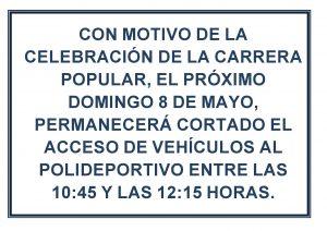 Corte_Tráfico CARRERA POPULAR