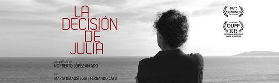 CINE| Jueves 28 de abril. La decisión de Julia. Teatro García Lorca. 19:30 h.