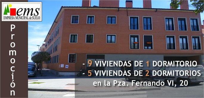 E.M.S. Acta sorteo 14 viviendas en Plaza Fernando VI, nº 20
