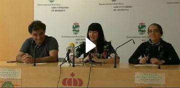 "Rueda de prensa ""IV Feria de economía social"""