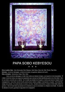 PAPA SOBO KEBYESOU