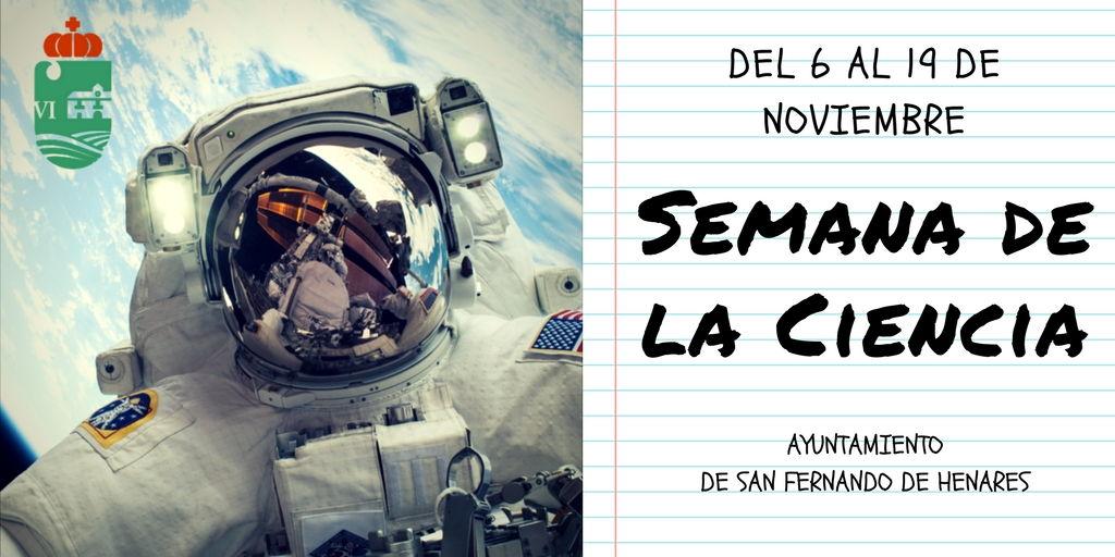 Semana de la Ciencia 6 al 19 de Noviembre
