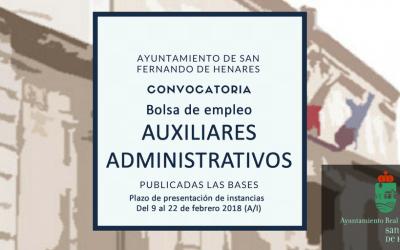Bolsa de empleo de auxiliares administrativos: Funcionamiento de la Bolsa de Empleo