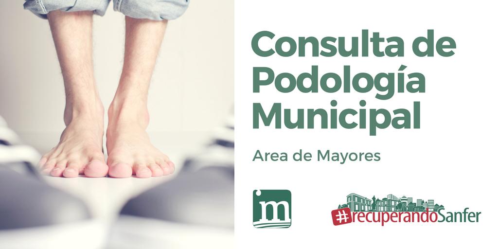 Ya en funcionamiento la Consulta de Podología Municipal para Mayores