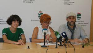 Beatriz del Monte, Dona Galán y Javier Mosquera