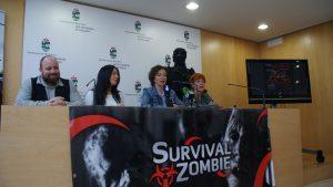 De Izq a Der: Diego de la Concepción, Macarena Medel, Cati Rodríguez y Dona Galán.