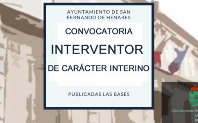 Convocatoria puesto de Intervención de carácter interino:  Decreto nº 1591/2019, del día 2 de julio, declarando extinguida la Bolsa de Empleo