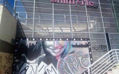 Nueva imagen para la fachada y el ascensor del Centro Joven @nimarte