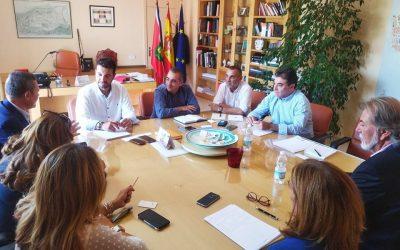 El Ayuntamiento de San Fernando de Henares y AEDHE fijan las bases para impulsar y revitalizar las zonas industriales