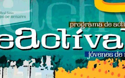 Fotografía, teatro, danza urbana y arte componen la oferta de 'Reactívate' para jóvenes de 12 a 18 años