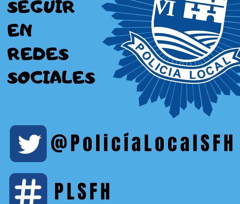 Policía Local inicia su andadura en redes sociales para mantenercomunicación directa con los/as vecinos/as