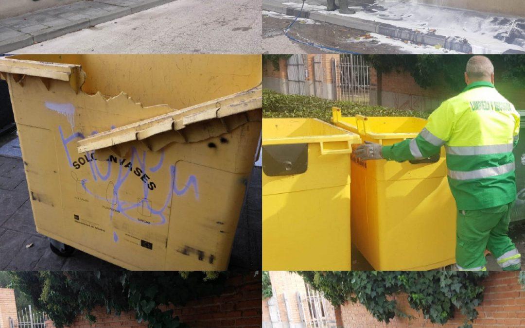 Trabajos de limpieza intensiva en cementerios por el día de Todos los Santos