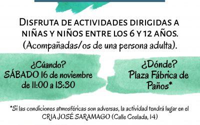 San Fernando de Henares se une a la celebración del Día Internacional de los Derechos de la Infancia con una 'gymkhana'