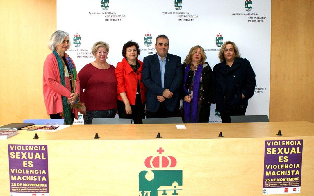 San Fernando de Henares inaugura las jornadas por el 25-N con un homenaje a las víctimas de la violencia sexual