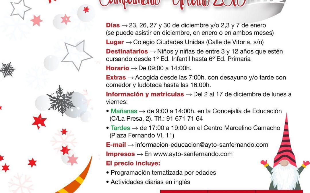 Campamento Urbano 2019: 'Un cuento de Navidad en Sanfer'