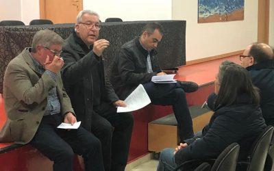 El alcalde, Javier Corpa, se compromete a organizar sesiones de trabajo con la Plataforma de Afectados por Metro y vecinos/as que padecen la problemática de grietas para dar traslado de sus reclamos a la 'Mesa de Coordinación Técnica' con la Comunidad de Madrid