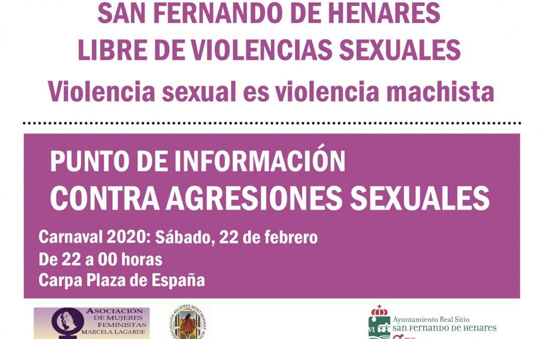 El Carnaval 2020 contará con un punto de información contra las agresiones sexuales