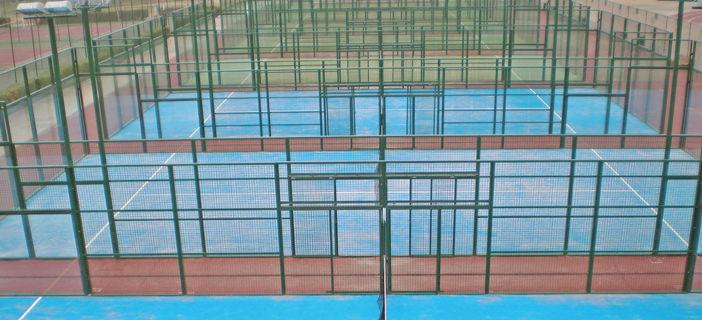 Reapertura de las pistas de tenis y pádel en el Polideportivo Municipal