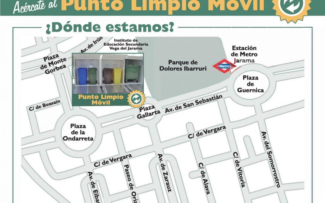 El 'Punto Limpio Móvil' regresa a la plaza Gallarta