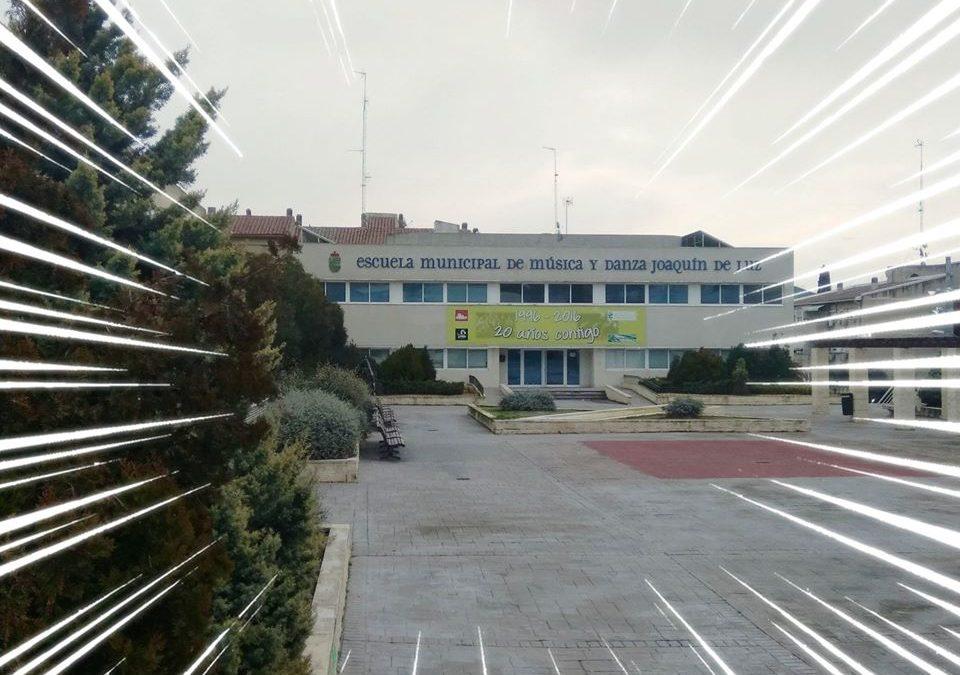 Solicitud de plaza en la Escuela Municipal de Música y Danza 'Joaquín de Luz' de San Fernando de Henares: curso 2020/2021