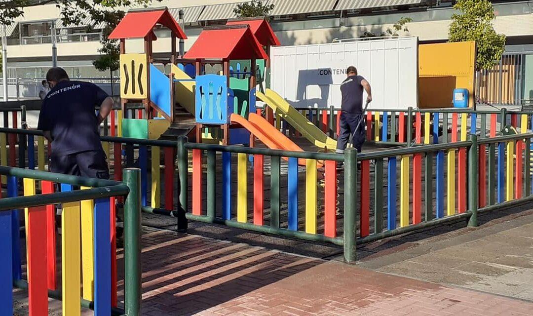 Pautas de uso de zonas de juego infantiles