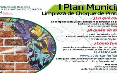 Arranca el 'I Plan Municipal de Limpieza de Choque de Pintadas'