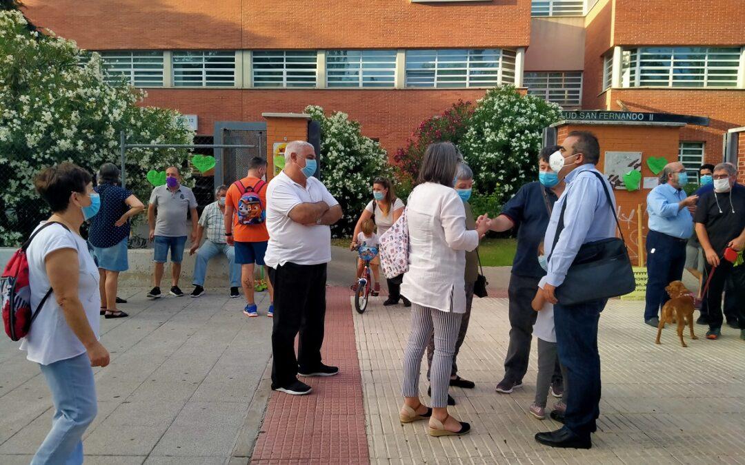 """Javier Corpa, alcalde: """"No puedo entender que la Comunidad de Madrid, en lugar de reforzar, opte por recortar nuestra sanidad en plena pandemia. Es intolerable"""""""