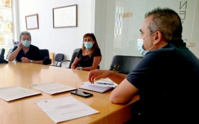 El alcalde, Javier Corpa, muestra su total apoyo y compromiso con internos/as de las dos residencias de mayores y sus familias