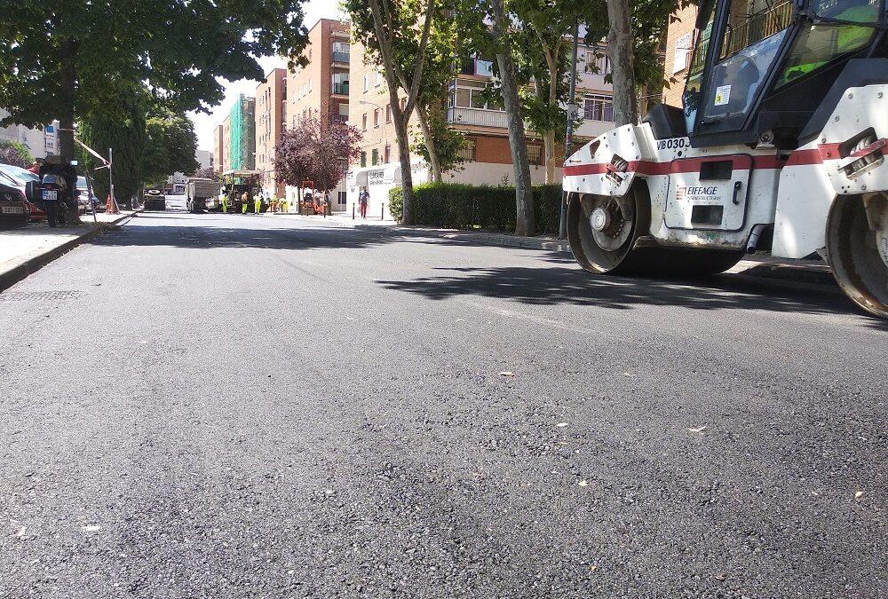 Cortes al tráfico en calle Pizarro por labores de asfaltado