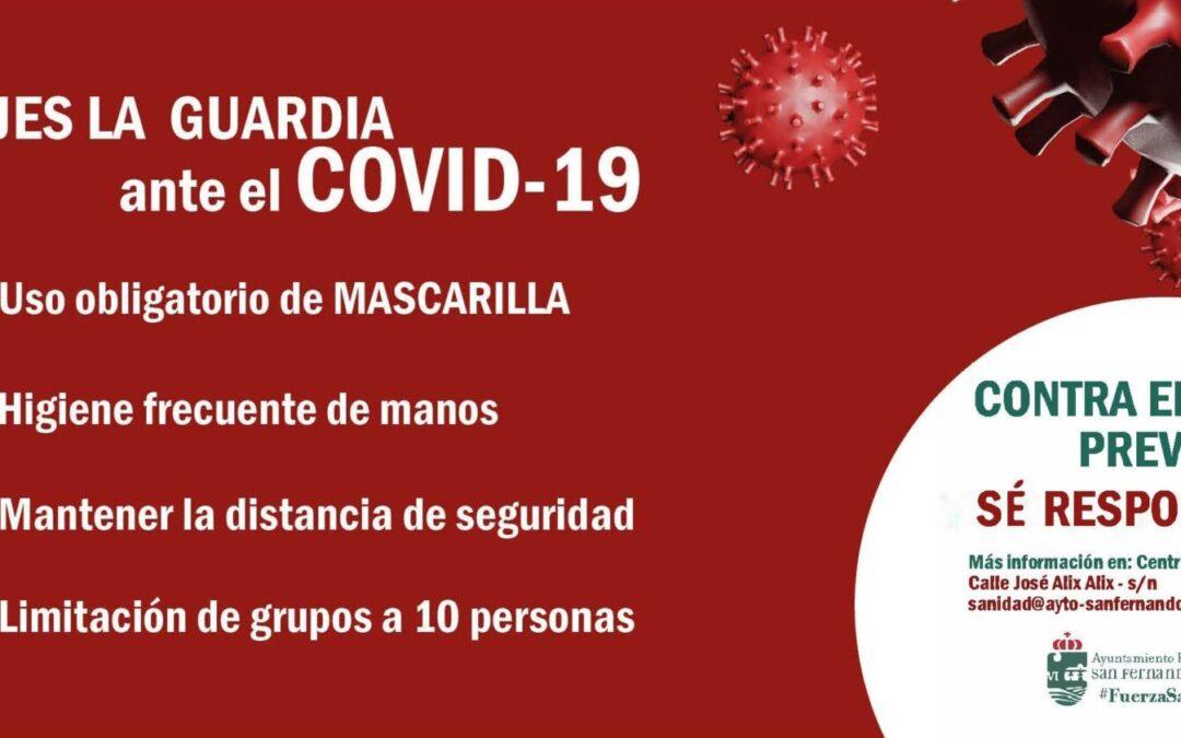 El Ayuntamiento de San Fernando de Henares pone en marcha nuevas medidas sanitarias 'anticovid'