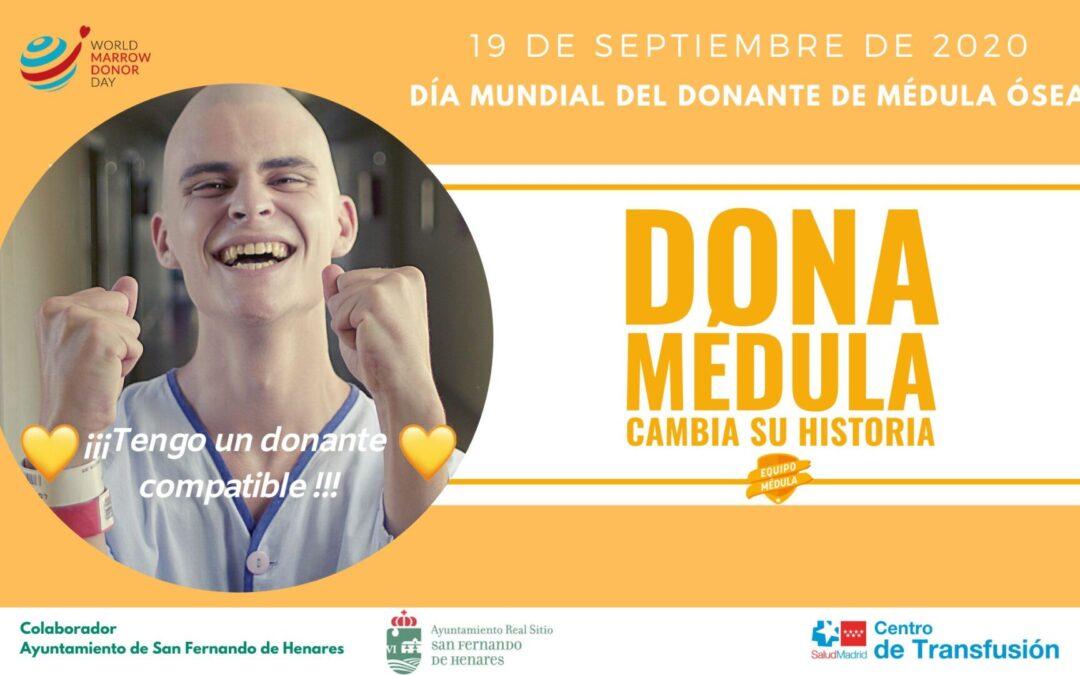 La Concejalía de Juventud se adhiere a la campaña 'Cambia su Historia' con motivo del Día Internacional del Donante de Médula, que se celebrará el próximo 19 de septiembre