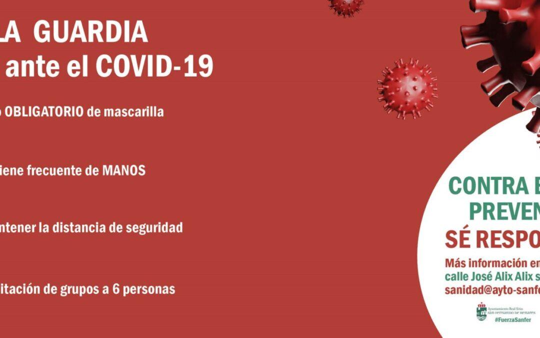 COMUNICADO OFICIAL: Recordatorio medidas 'anticovid'