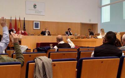 El pleno municipal respalda el primer 'Pacto Local por el Empleo' impulsado desde el equipo de Gobierno con el consenso de los sindicatos CC.OO y UGT, y la Asociación de Empresarios del Henares (AEDHE)