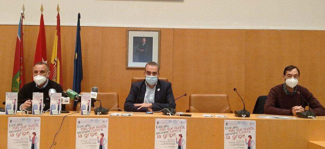 La Concejalía de Sanidad impulsa una campaña informativa y de prevención sobre la importancia de vacunación contra la gripe