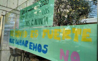 San Fernando de Henares celebra el Día Internacional de los Derechos de la Infancia con pancartas conmemorativas