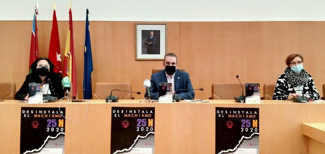El Ayuntamiento de San Fernando de Henares presenta la innovadora campaña 'Desinstala el Machismo' con motivo de la conmemoración del 25 de noviembre