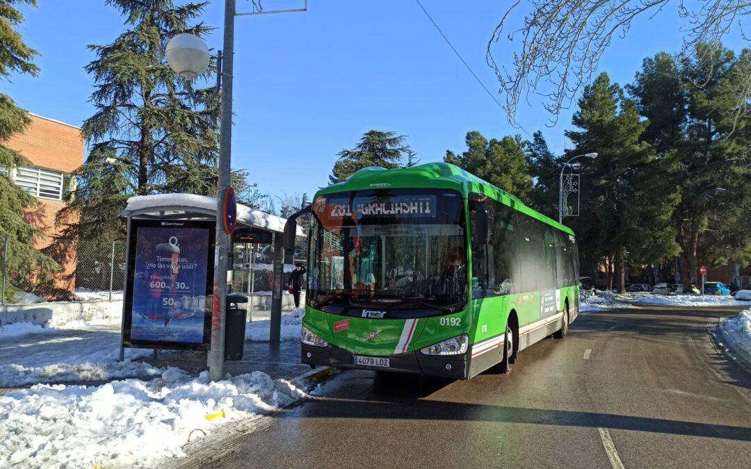 IMPORTANTE: Servicio de autobuses
